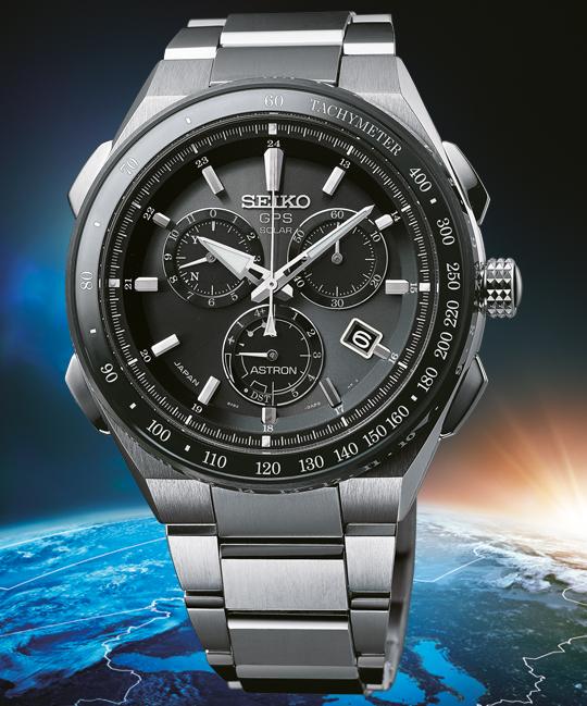 Seiko Astron Solar Gps Chronograph Sse129j1 LqA54R3j